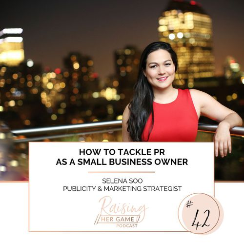 Ep42. How to tackle PR as a small business owner
