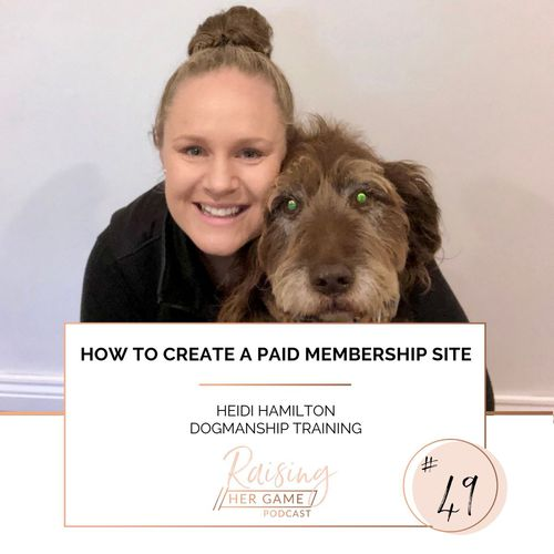 Ep49. How to create a paid membership site