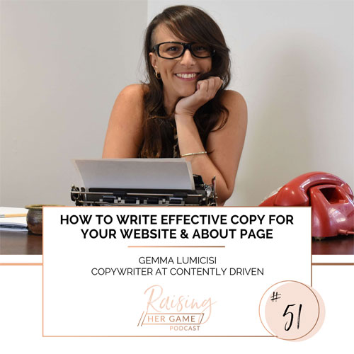 Ep51. How to write effective copy for your website and about page