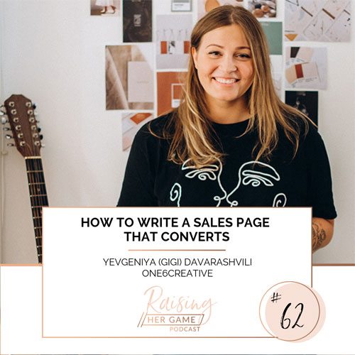 Ep62. How to write a sales page that converts