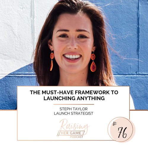 Ep76. The must-have framework to launching anything