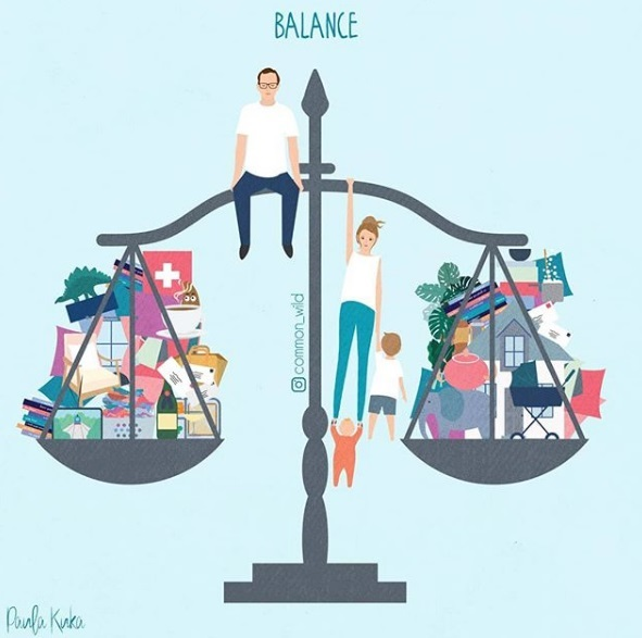 Finding Balance-Illustrated by Paula-Kuka