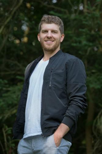 Podcaster Colin Morgan